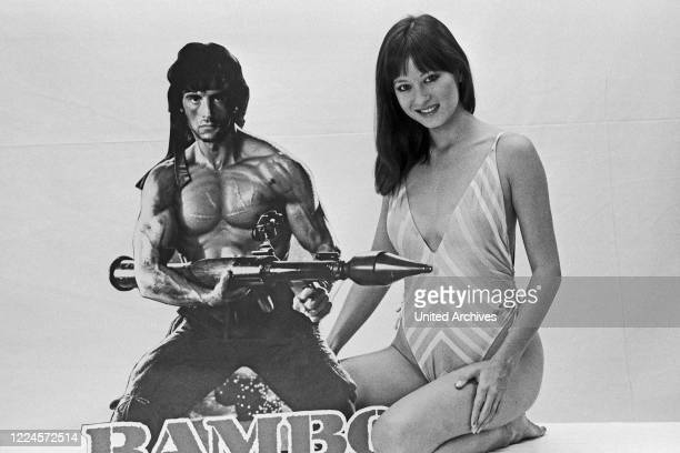Julia NicksonSoul American actress and co actor with Sylvester Stallone in 'Rambo II' Germany circa 1984