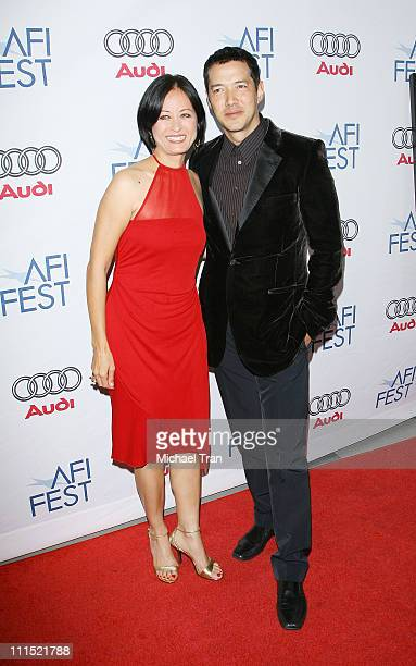 Julia NicksonSoul and Russell Wong arrive to 'A Tribute to Tilda Swinton' at the 2008 AFI Festival held at Arclight Cinemas on November 5 2008 in...