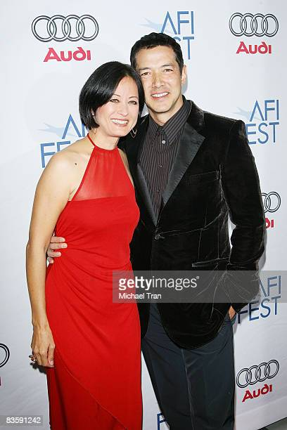 Julia NicksonSoul and Russell Wong arrive to A Tribute to Tilda Swinton at the 2008 AFI Festival held at Arclight Cinemas on November 5 2008 in...