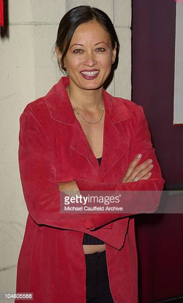 Julia NicksonSoul during Kelly Hu's Chinese New Year Party at Lucky Duck in Los Angeles California United States