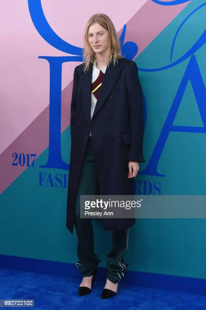 Julia Nobis attends the 2017 CFDA Fashion Awards at Hammerstein Ballroom on June 5 2017 in New York City