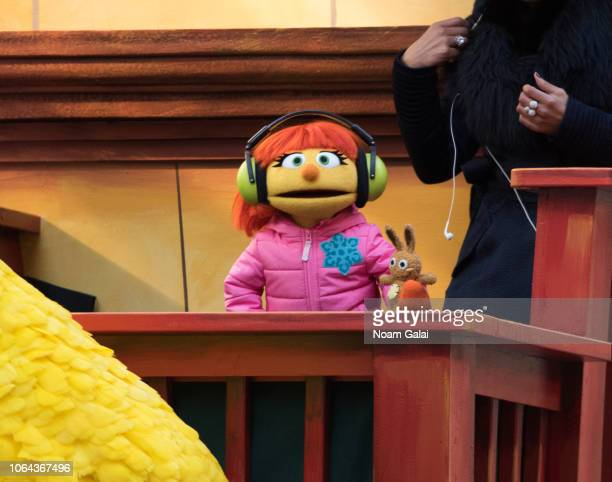 Julia of Sesame Street attends the 2018 Macy's Thanksgiving Day Parade on November 22 2018 in New York City