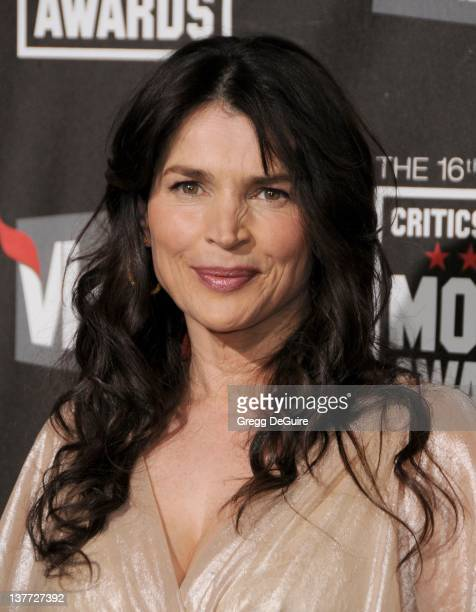 Julia Ormond arrives at The 16th Annual Critics' Choice Movie Awards at the Hollywood Palladium on January 14, 2011 in Hollywood, California.