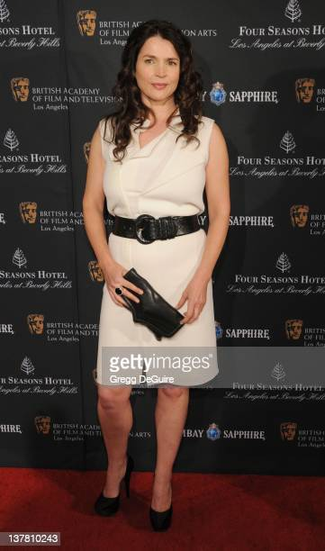 Julia Ormond arrives at the 17th Annual BAFTA Los Angeles Awards Season Tea Party at the Four Seasons Hotel on January 15 2011 in Los Angeles...