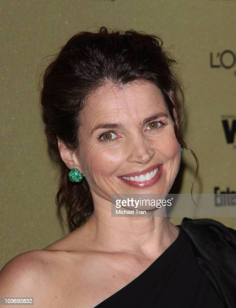 Julia Ormond arrives at the Entertainment Weekly and Women In Film pre-EMMY party held at The Sunset Marquis Hotel on August 27, 2010 in West...