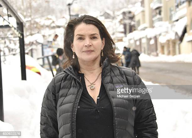 Julia Ormond attends A Conversation With Julia Ormond Understanding The Costs Of And Between Trafficking Slavery and Environmental Degradation on...