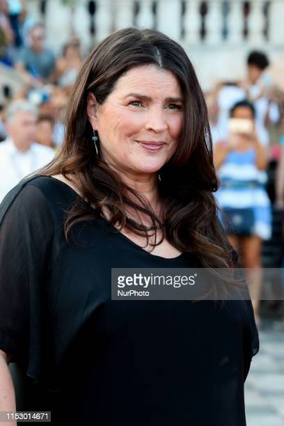 Julia Ormond attends the 65th Taormina Film Fest - Day 1 on June 30, 2019 in Taormina, Italy.