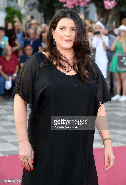 Julia Ormond attends the 65th Taormina Film Fest Red Carpet at Teatro Antico on June 30 2019 in Taormina Italy
