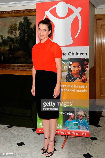 Julia Ormond attends the Save The Children Awards press conference at the Asociacion de la Prensa on September 30 2009 in Madrid Spain
