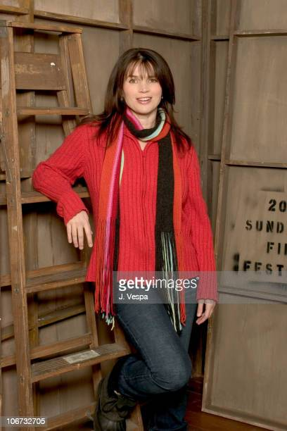 Julia Ormond during 2004 Sundance Film Festival Iron Jawed Angels Portraits at HP Portrait Studio in Park City Utah United States