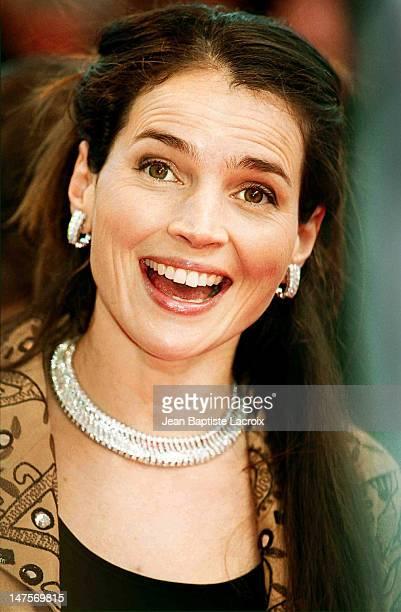 Julia Ormond during Cannes Film Festival 2001 at Palais des Festivals in Cannes, France.