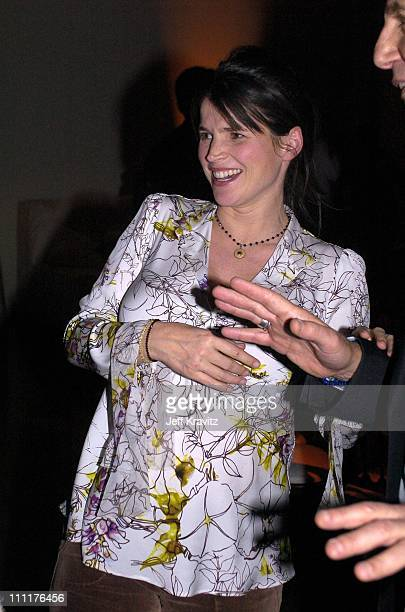 Julia Ormond during HBO Films Presents Iron Jawed Angels Premiere Party at The Highlands Annex in Hollywood California United States