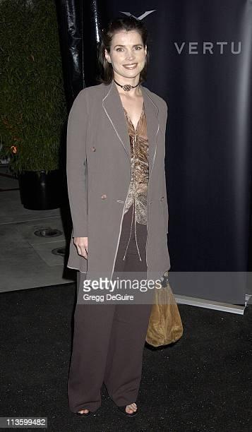Julia Ormond during Vertu Client Suite Opening at Vertu in Beverly Hills California United States