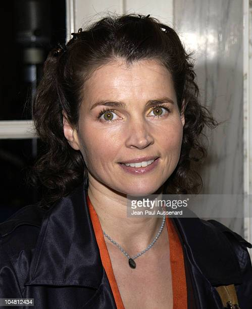 Julia Ormond during Voices for Justice 2002 Human Rights Watch Annual Dinner at Regent Beverly Wilshire Hotel in Beverly Hills California United...