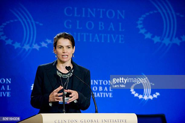 Julia Ormond, Founder and President, Alliance to Stop Slavery and End Trafficking announces her commitment to mobilize new approaches to prevent and...