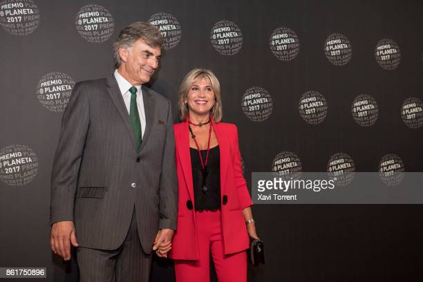 Julia Otero attends the 2017 Premio Planeta award on October 15 2017 in Barcelona Spain