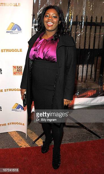 Julia Pace Mitchell attends the 10th Annual Heroes in the Struggle Gala at the Avalon on December 1 2010 in Hollywood California