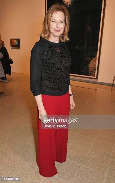 Julia PeytonJones attends the reopening of The Hayward Gallery featuring the first major UK retrospective of the work of German photographer Andreas...