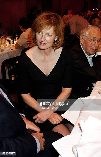 Julia PeytonJones attends the Turner Prize 2005 at Tate Britain on December 5 2005 in London England David Lammy hosts this year's prestigious arts...