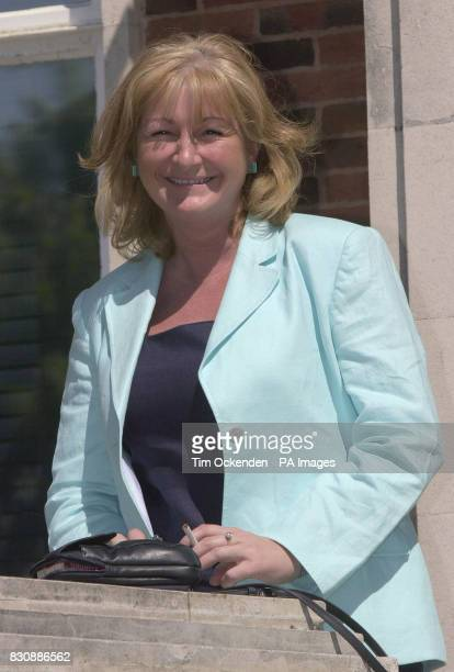 Julia Pilkington outside Portsmouth Magistrates Court, where she faced five harassment charges, each involving a different neighbour. Julia...
