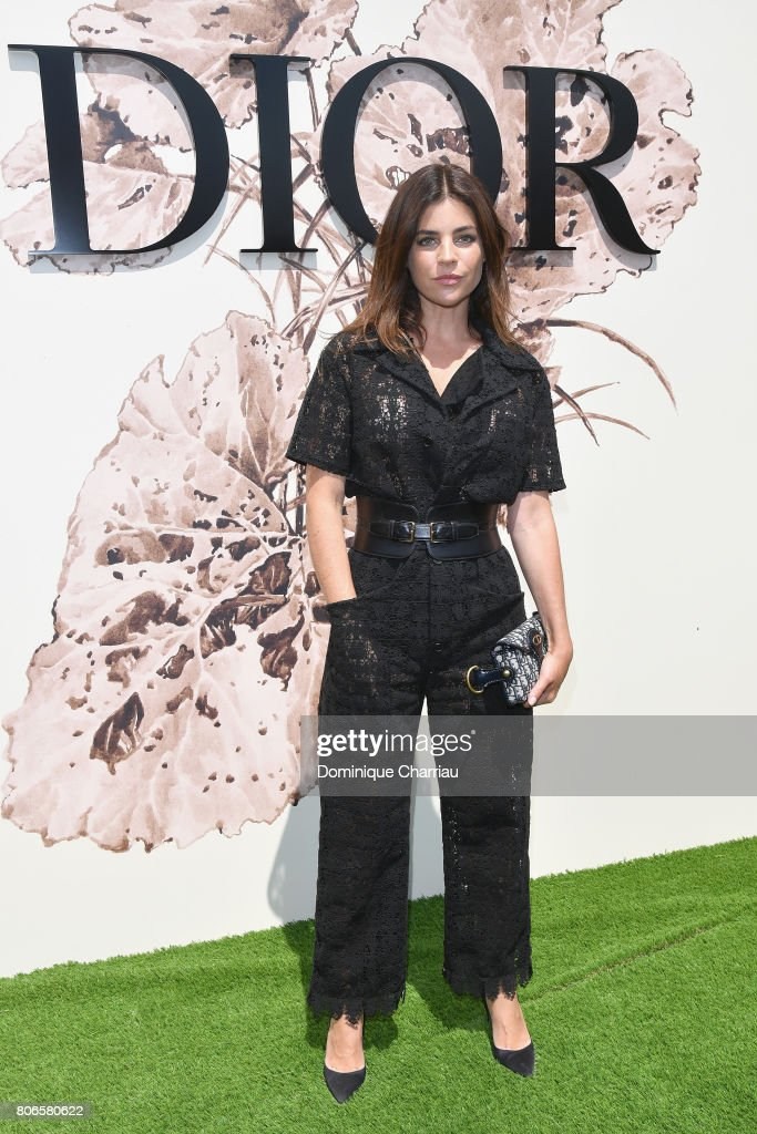 Julia Restoin attends the Christian Dior Haute Couture Fall/Winter 2017-2018 show as part of Haute Couture Paris Fashion Week on July 3, 2017 in Paris, France.