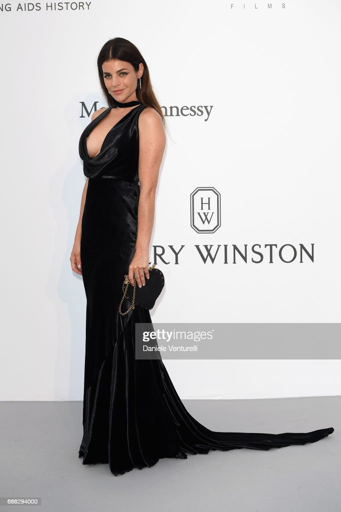 Julia Restoin Roitfeld arrives at the amfAR Gala Cannes 2017 at Hotel du Cap-Eden-Roc on May 25, 2017 in Cap d'Antibes, France.