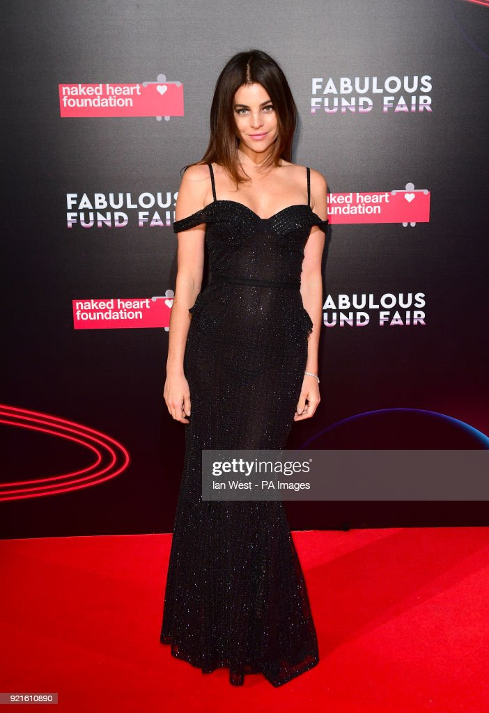Julia Restoin Roitfeld attending the Naked Heart Foundation Fabulous Fun dFair held at The Roundhouse in Chalk Farm, London.