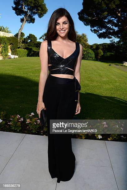 Julia Restoin Roitfeld attends amfAR's 20th Annual Cinema Against AIDS during The 66th Annual Cannes Film Festival at Hotel du CapEdenRoc on May 23...