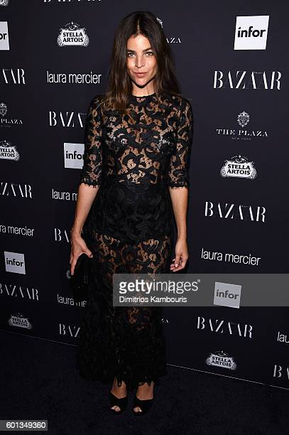 Julia Restoin Roitfeld attends Harper's Bazaar's celebration of ICONS By Carine Roitfeld presented by Infor Laura Mercier and Stella Artois at The...