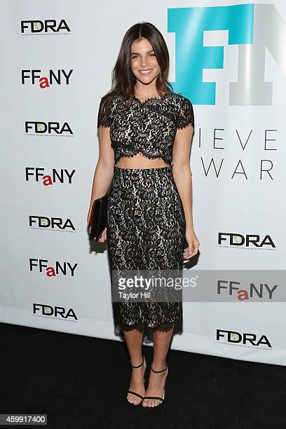 Julia Restoin Roitfeld attends the 2014 Fashion Footwear Association Of New York Awards at IAC Building on December 3 2014 in New York City
