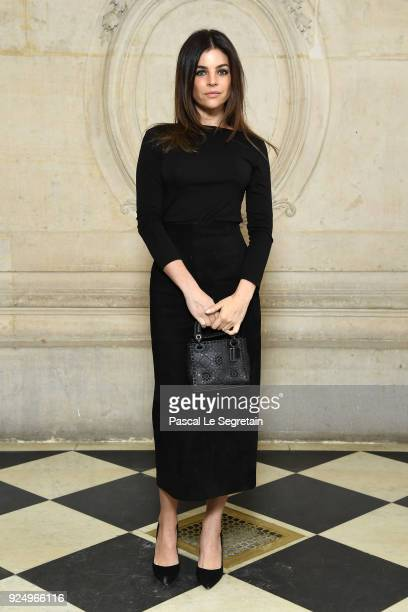Julia Restoin Roitfeld attends the Christian Dior show as part of the Paris Fashion Week Womenswear Fall/Winter 2018/2019 on February 27 2018 in...