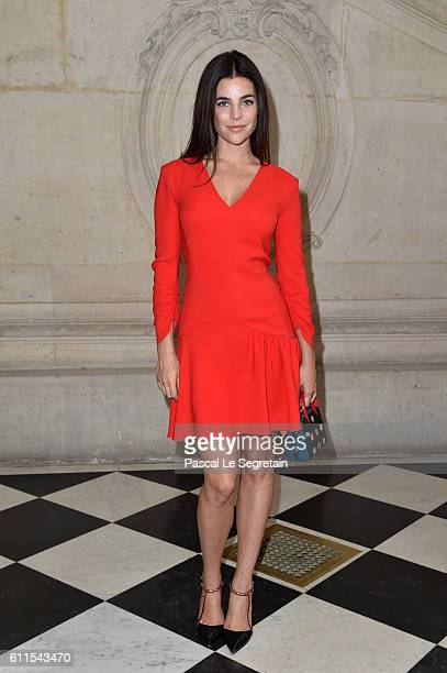 Julia Restoin Roitfeld attends the Christian Dior show of the Paris Fashion Week Womenswear Spring/Summer 2017 on September 30 2016 in Paris France