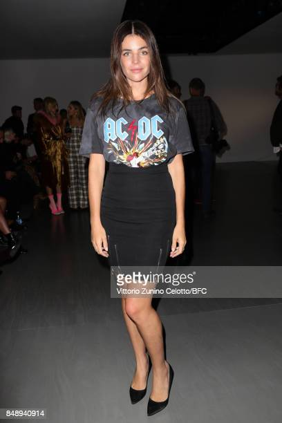 Julia Restoin Roitfeld attends the David Koma show during London Fashion Week September 2017 on September 18 2017 in London England