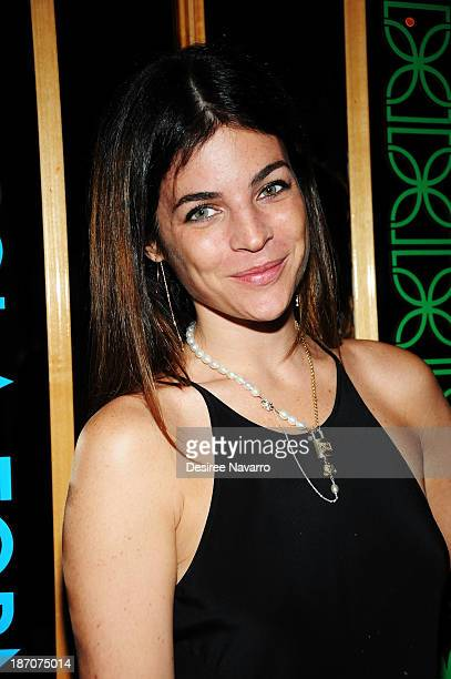 Julia Restoin Roitfeld attends the Didier Dubot Jewelry Launch at The Standard on November 5 2013 in New York City