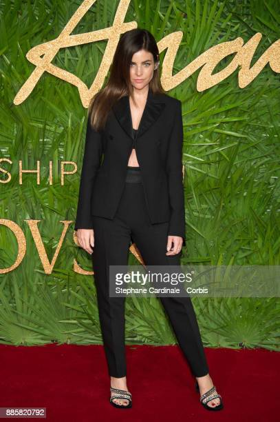 Julia Restoin Roitfeld attends the Fashion Awards 2017 In Partnership With Swarovski at Royal Albert Hall on December 4 2017 in London England