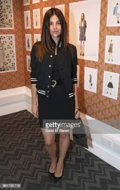 Julia Restoin Roitfeld attends the launch of the Orla Kiely retrospective that celebrates her remarkable 20year career at The Fashion and Textile...