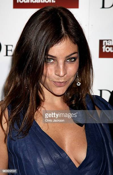 Julia Restoin Roitfeld attends the Love Ball London at the Roundhouse on February 23 2010 in London England The event was hosted by Russian model...