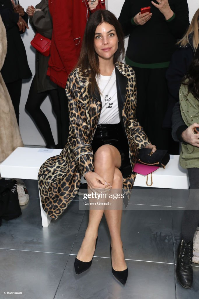 Molly Goddard - Front Row - LFW February 2018