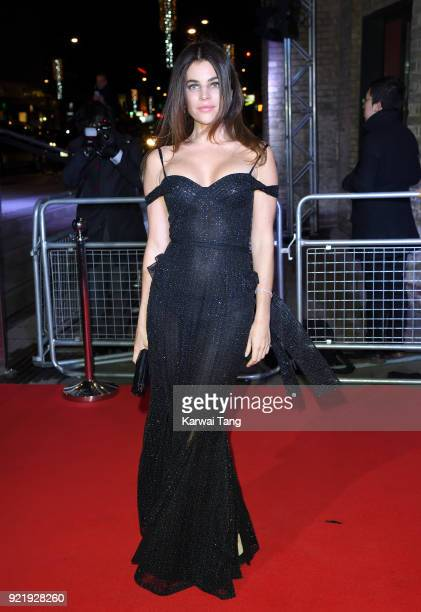 Julia Restoin Roitfeld attends the Naked Heart Foundation's Fabulous Fund Fair during London Fashion Week February 2018 at the Roundhouse on February...