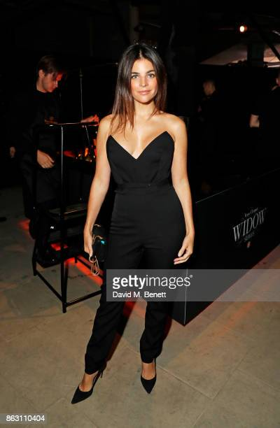 Julia Restoin Roitfeld attends The Veuve Clicquot Widow Series By Carine Roitfeld And CR Studio on October 19 2017 in London England