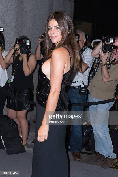 Julia Restoin Roitfeld attends Tom Ford fashion show during New York Fashion Week at 99 East 52nd Street on September 7, 2016 in New York City.