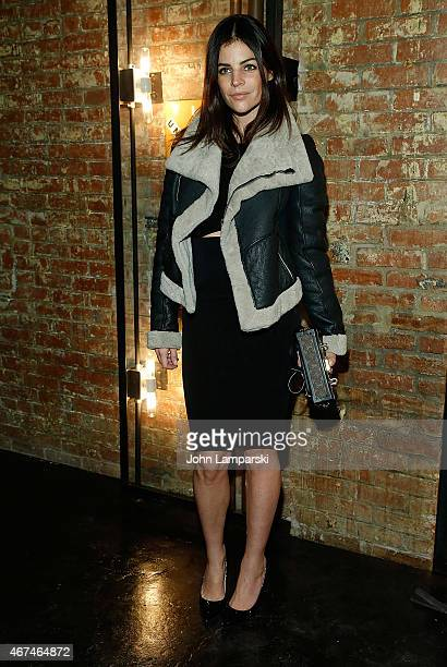 Julia Restoin Roitfeld attends Unemployed Magazine launch at private residence on March 24 2015 in New York City