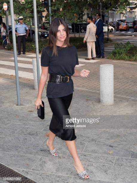 Julia Restoin Roitfeld is seen during Milan Fashion Week Spring/Summer 2019 on September 19 2018 in Milan Italy Photo by Arnold Jerocki/Getty Images
