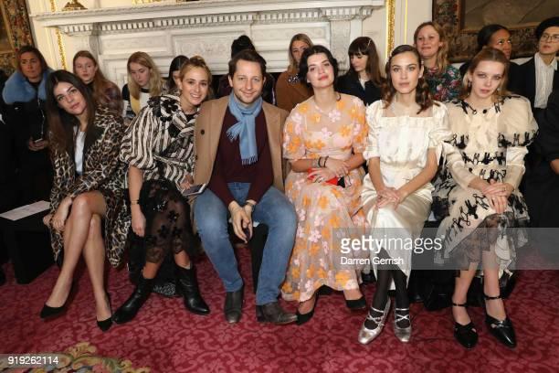 Julia Restoin Roitfeld Princess Elisabeth von Thurn und Taxis Derek Blasberg Pixie Geldof Alexa Chung and Greta Bellamacina attend the Simone Rocha...