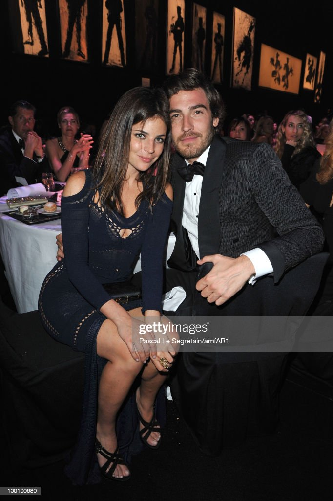 Julia Restoin-Roitfeld and Robert Konjic attend amfAR's Cinema Against AIDS 2010 benefit gala dinner at the Hotel du Cap on May 20, 2010 in Antibes, France.
