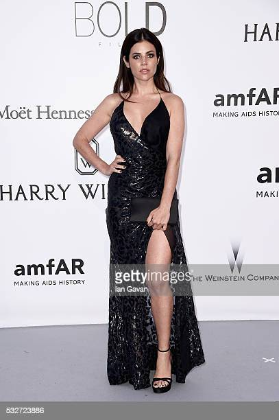 Julia RestoinRoitfeld arrives at amfAR's 23rd Cinema Against AIDS Gala at Hotel du CapEdenRoc on May 19 2016 in Cap d'Antibes France