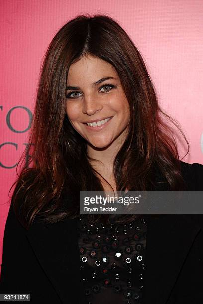 Julia RestoinRoitfeld arrives at the Victoria's Secret fashion show at The Armory on November 19 2009 in New York City