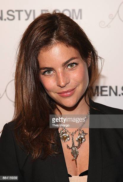 Julia RestoinRoitfeld attends MenStyleCom's 3rd Annual Women of Fashion at The New York Palace Hotel on June 10 2009 in New York City