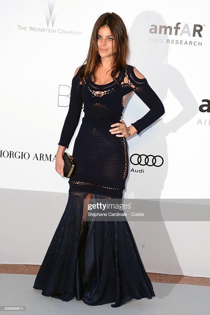 Julia Restoin-Roitfeld attends the '2010 amfAR's Cinema Against AIDS' Gala - Arrivals