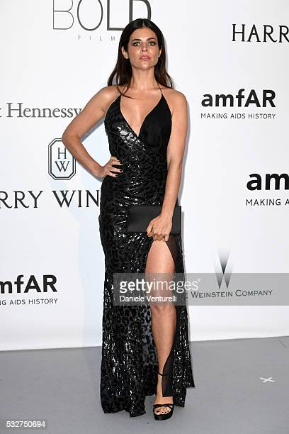 Julia RestoinRoitfeld attends the amfAR's 23rd Cinema Against AIDS Gala at Hotel du CapEdenRoc on May 19 2016 in Cap d'Antibes France